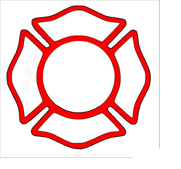 Maltese Cross - Red Clip Art at Clker.com - vector clip art online ...