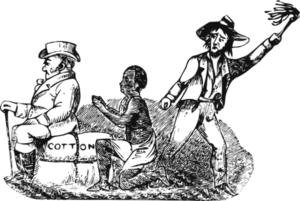 African american slave clipart