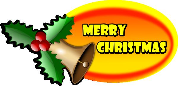 merry christmas banner clip art at clker com