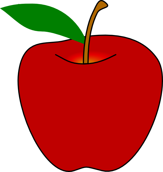 red apple clip art at clker com vector clip art online royalty rh clker com apple clipart three witches apple clipart png