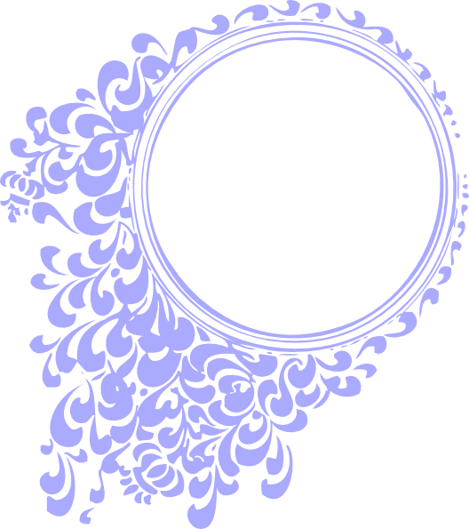 Purple Vintage Circle Clip Art at Clker.com - vector clip ...
