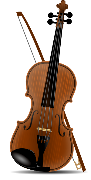 Violin Clip Art at Clker.com - vector clip art online, royalty free ...