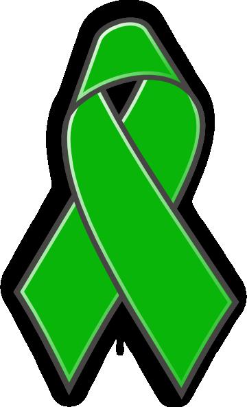 free clip art green ribbon - photo #1