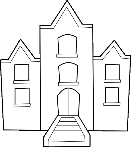 School Building Clip Art at Clker.com - vector clip art ...
