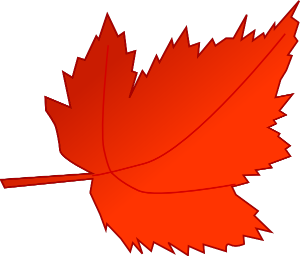 Red Maple Leaf Clip Art at Clker.com - vector clip art ...