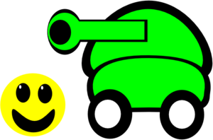Cartoon Tank Clip Art