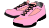 Pink Shoes Clip Art