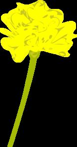 yellow marigold clip art at clker com vector clip art online rh clker com marigold flower clipart marigold clipart