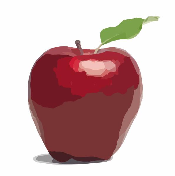Caramel Apple Clip Art