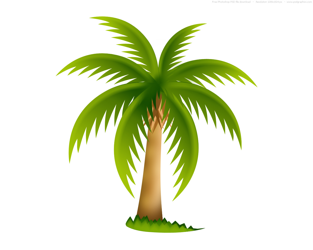 palm tree clip art - photo #7