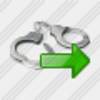 Icon Handcuffs Export Image