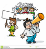 Protest Cartoon Clipart Free Image