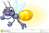 Animated Firefly Clipart Image