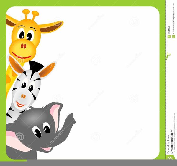 cartoon safari animals clipart free images at clker com vector rh clker com safari animals clip art free baby safari animals clipart