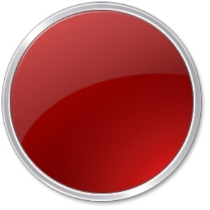 Red Round Button Image