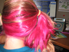 Pink Hair Side Pony Image