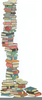 Stack Of Books Free Clipart Image