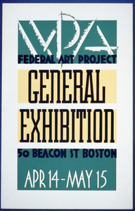 Wpa Federal Art Project General Exhibition Image