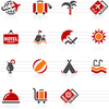 Summer Travel Icons Image