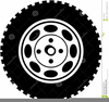 Car Tyres Clipart Image