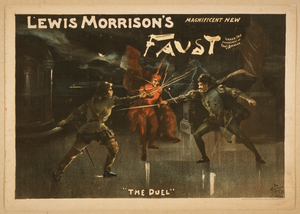 Lewis Morrison S Magnificent New Faust Image