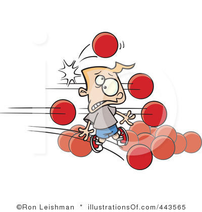 Dodgeball | Free Images at Clker.com - vector clip art online, royalty ...