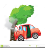 Wrecked Cars Clipart Image