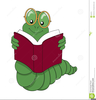 Free Clipart Of Bookworm Image