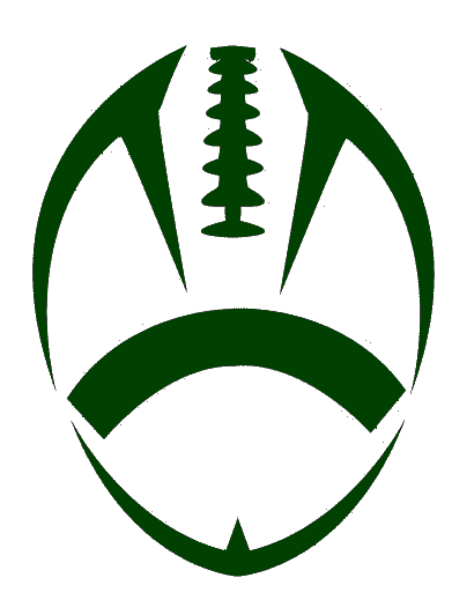 Green Football Cut | Free Images at Clker.com - vector clip art online ...