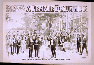 Blaney S Extravaganza Success, A Female Drummer Image