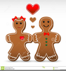 Gingerbread Boy Clipart Image