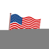 Free Clipart American Flag Image