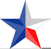 Texas Lone Star Clipart Image