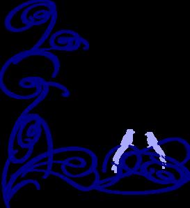 Decorative swirl changed3 clip art at vector for Bordi decorativi