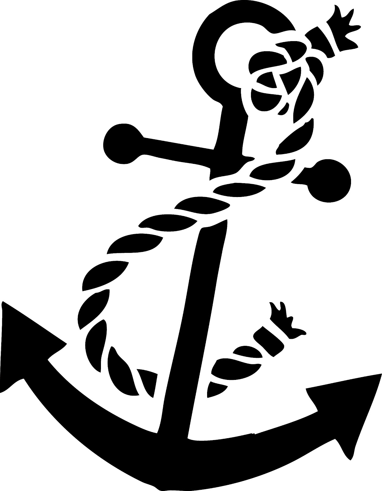 Shared By  Jennifer 06-15-2013Navy Anchor Logo Outline