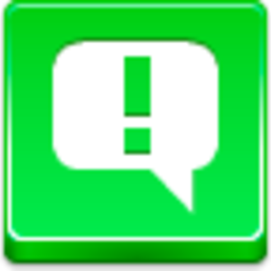 Message Attention Icon Image
