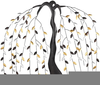 Free Willow Tree Clipart Image