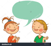 Two People Talking Clipart Free Image