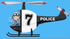 Animated Police Car Clipart Image
