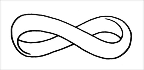 Infinity Symbol Coloring Pages