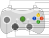 Xbox 360 Controller Diagram Clip Art