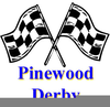 Free Cub Scout Pinewood Derby Clipart Image