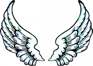 Angel Wings Clip Art Image