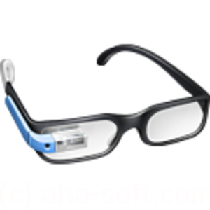 Guy Google Glasses Icon Image