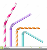 Drinking Straw Clipart Image