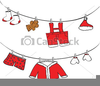 Free Clipart Clothes Line Image