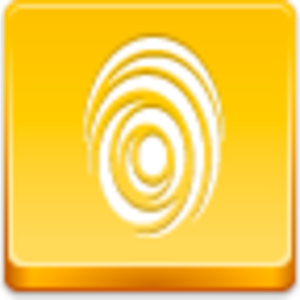 Free Yellow Button Finger Print Image