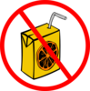 Prohibited Juice Clip Art