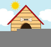 Dog Houses Clipart Image