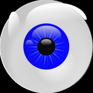 eyeball blue clip art at clker com vector clip art online royalty rh clker com scary eyeball clipart eyeball clip art free
